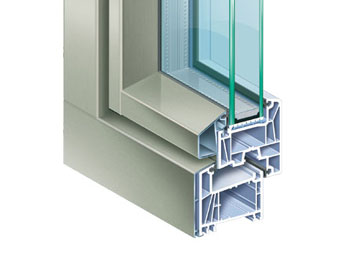 Alufusion infissi e serramenti in pvc e alluminio by - Finestre in alluminio o pvc differenze ...